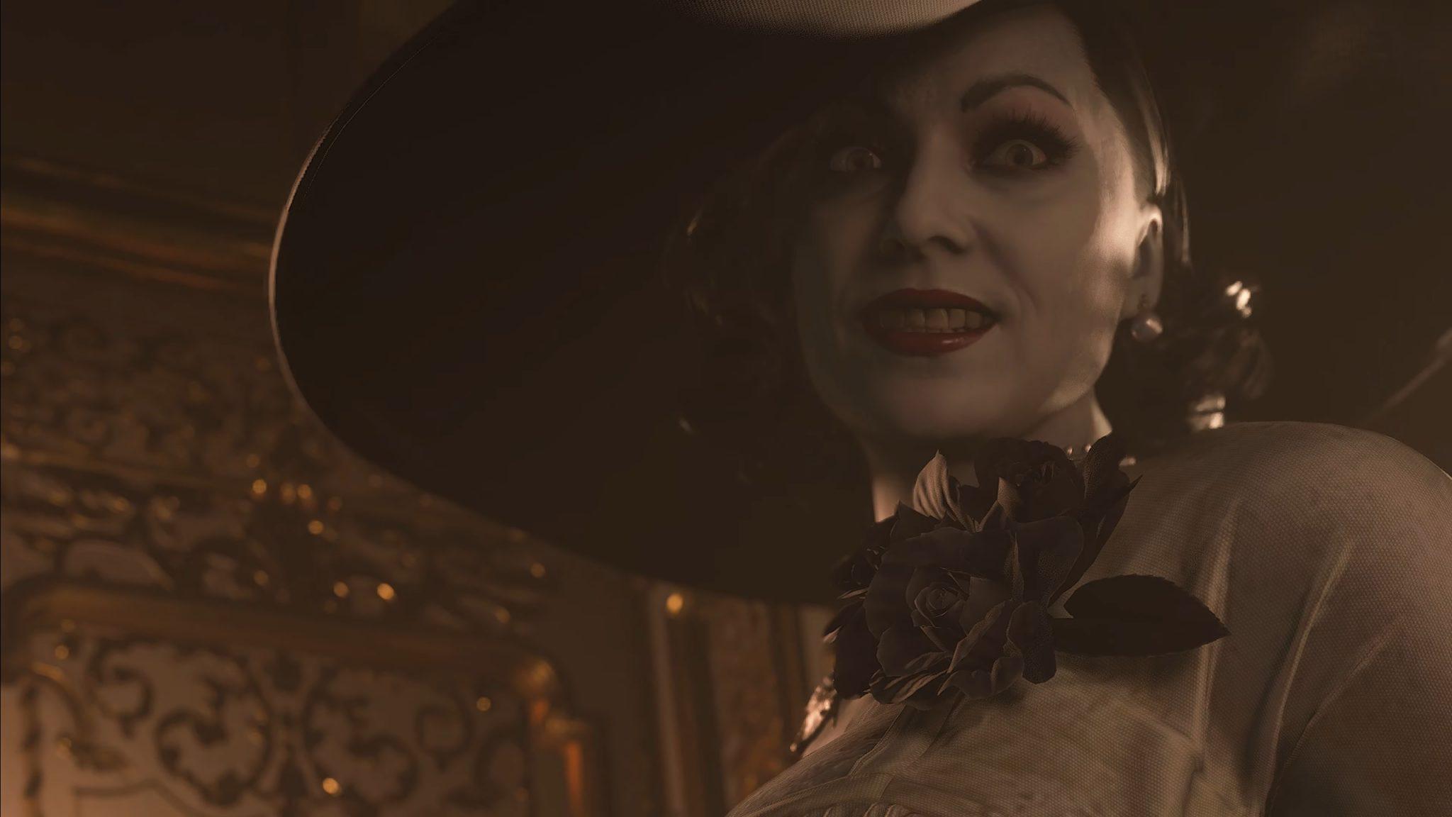 resident evil big vampire woman