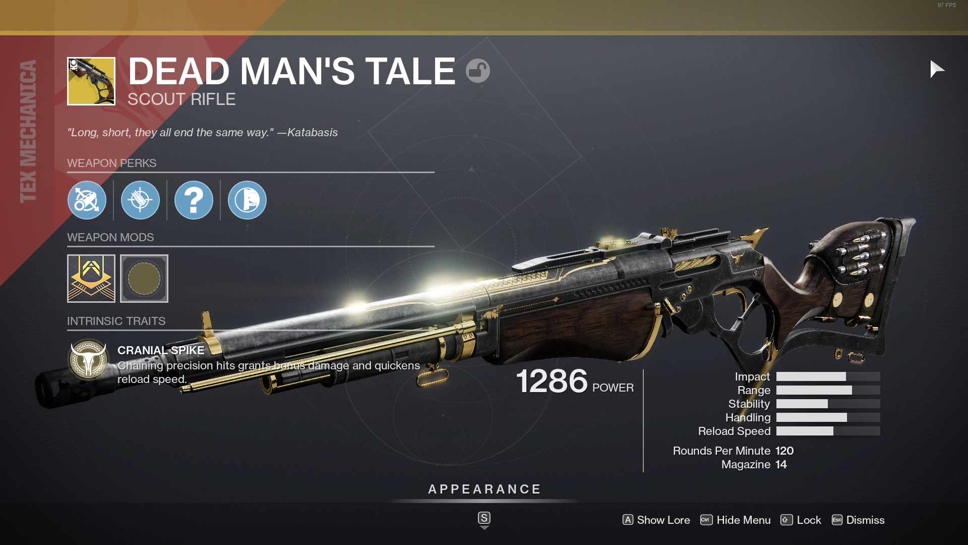 Destiny 2 Dead Mans Tale Exotic Quest