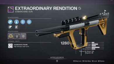 Photo of Destiny 2 Extraordinary Rendition Guide – How to Get & the God Roll