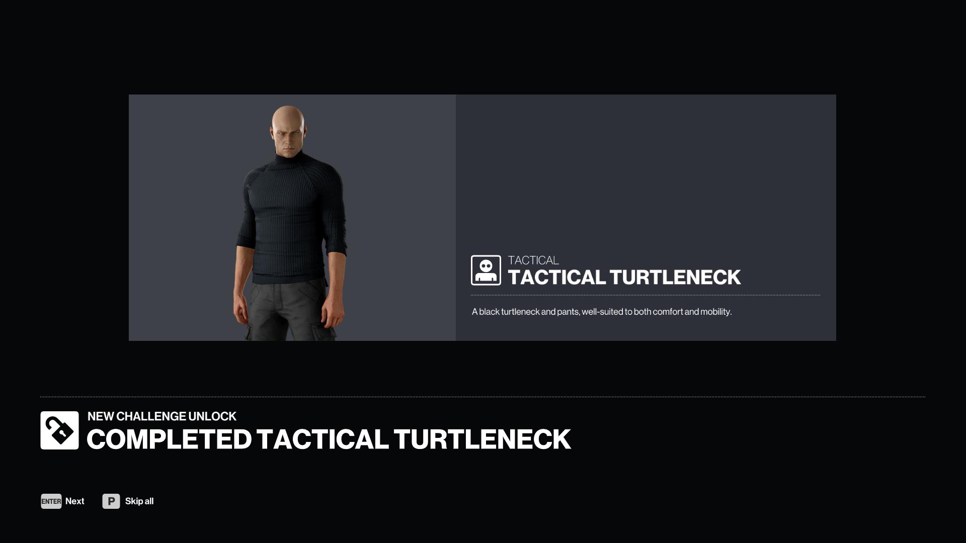 Hitman 3 Tactical Turtleneck