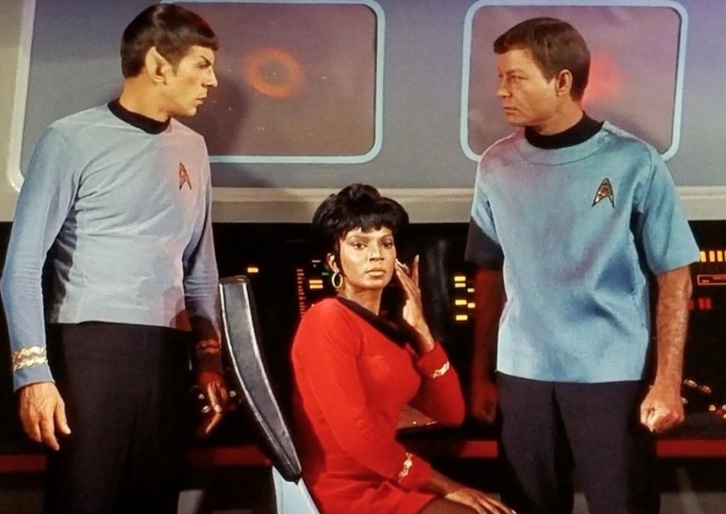 star trek spock uhura mccoy