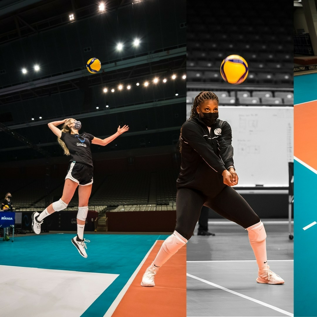 athletes unlimited womens volleyball