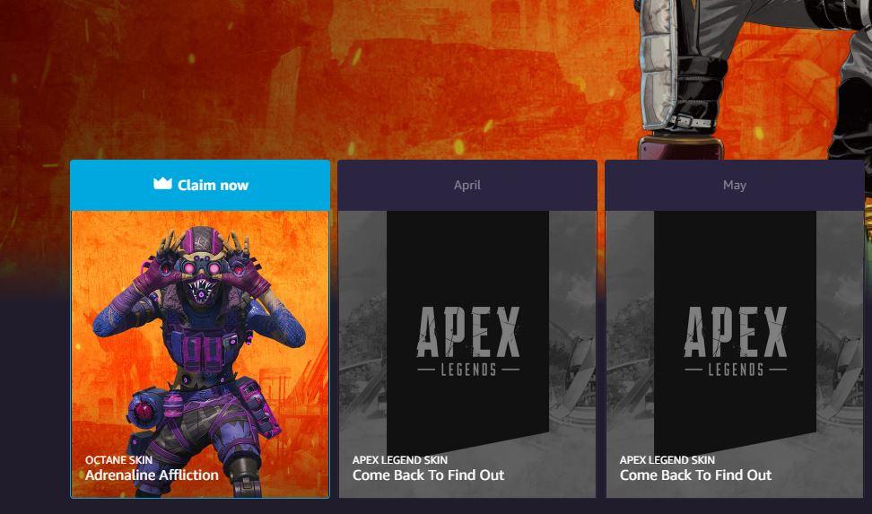 Apex Legends Adrenaline Affliction Octane Skin