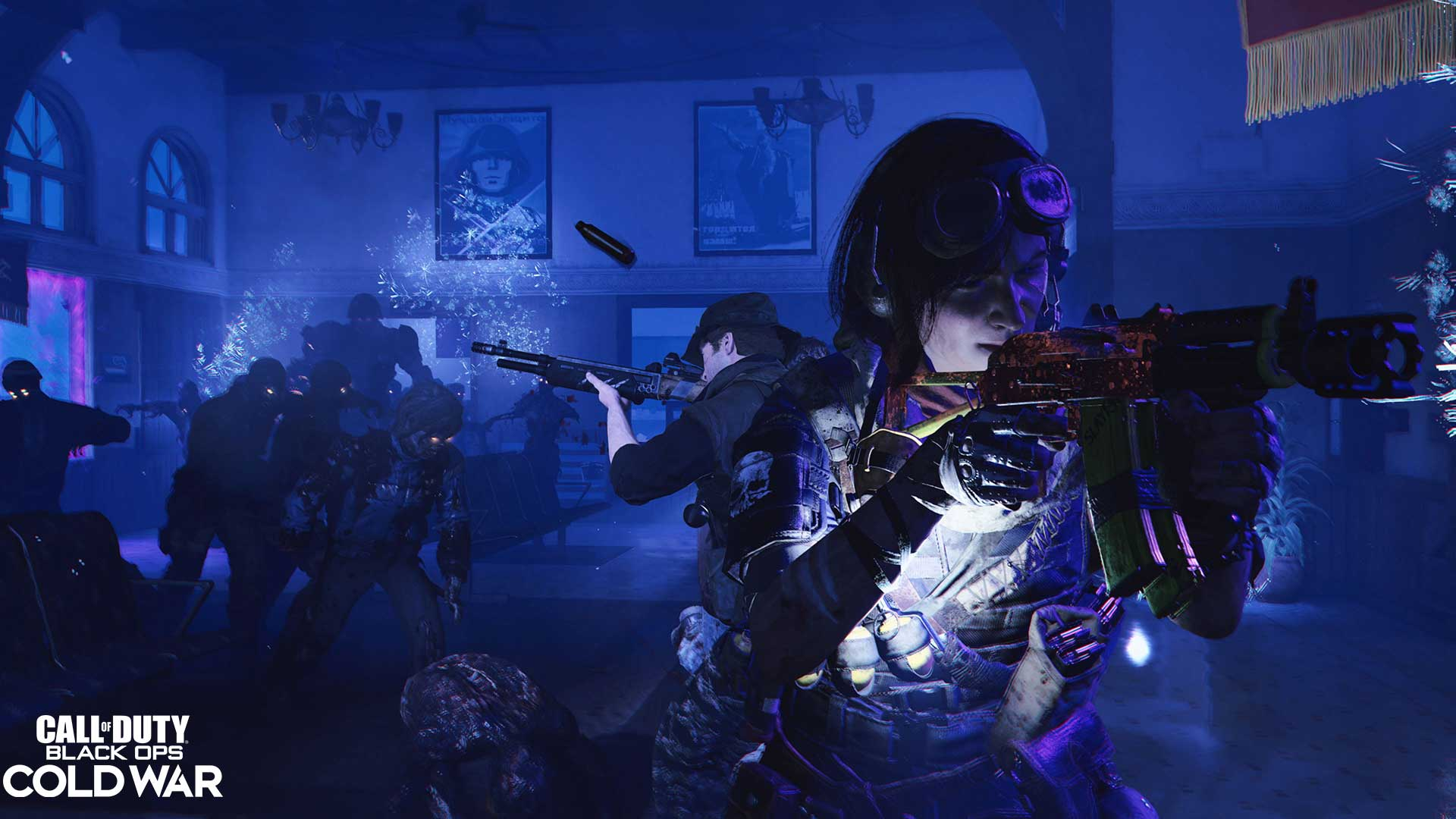 Call of Duty Black Ops Outbreak Squad Screenshot