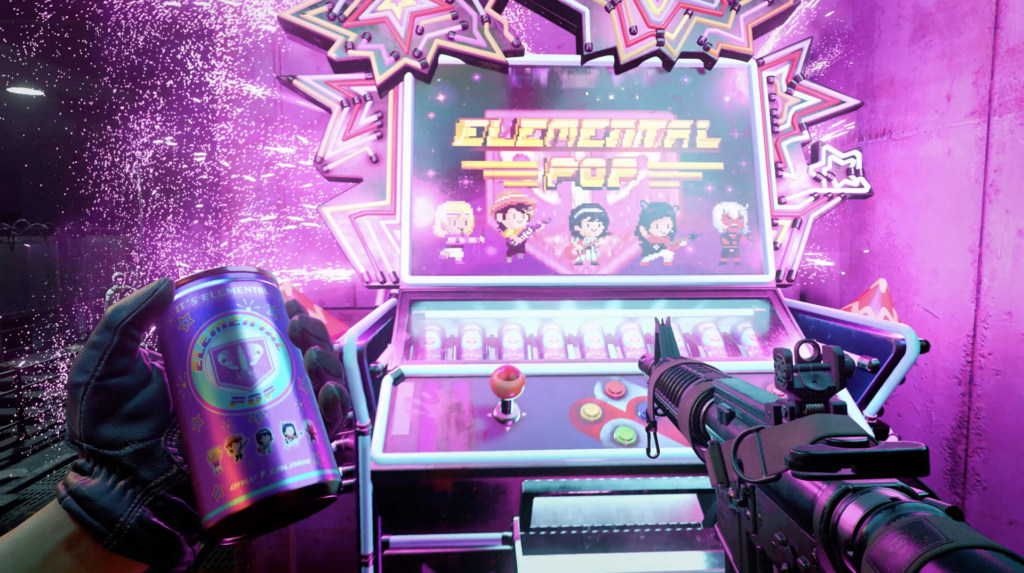 Elemental Pop Machine in COD Outbreak