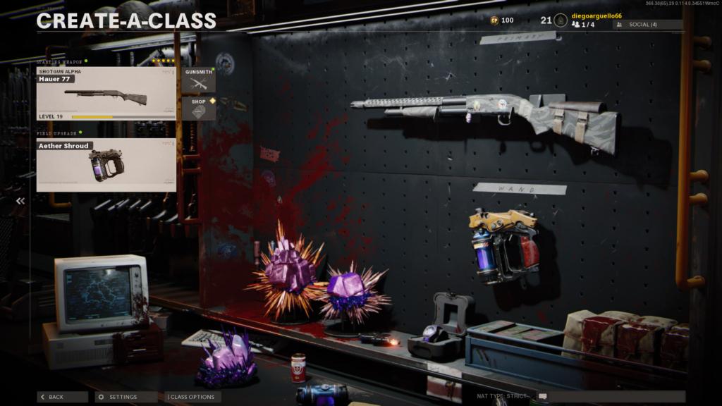 Call of Duty Hauer Shotgun Loadout