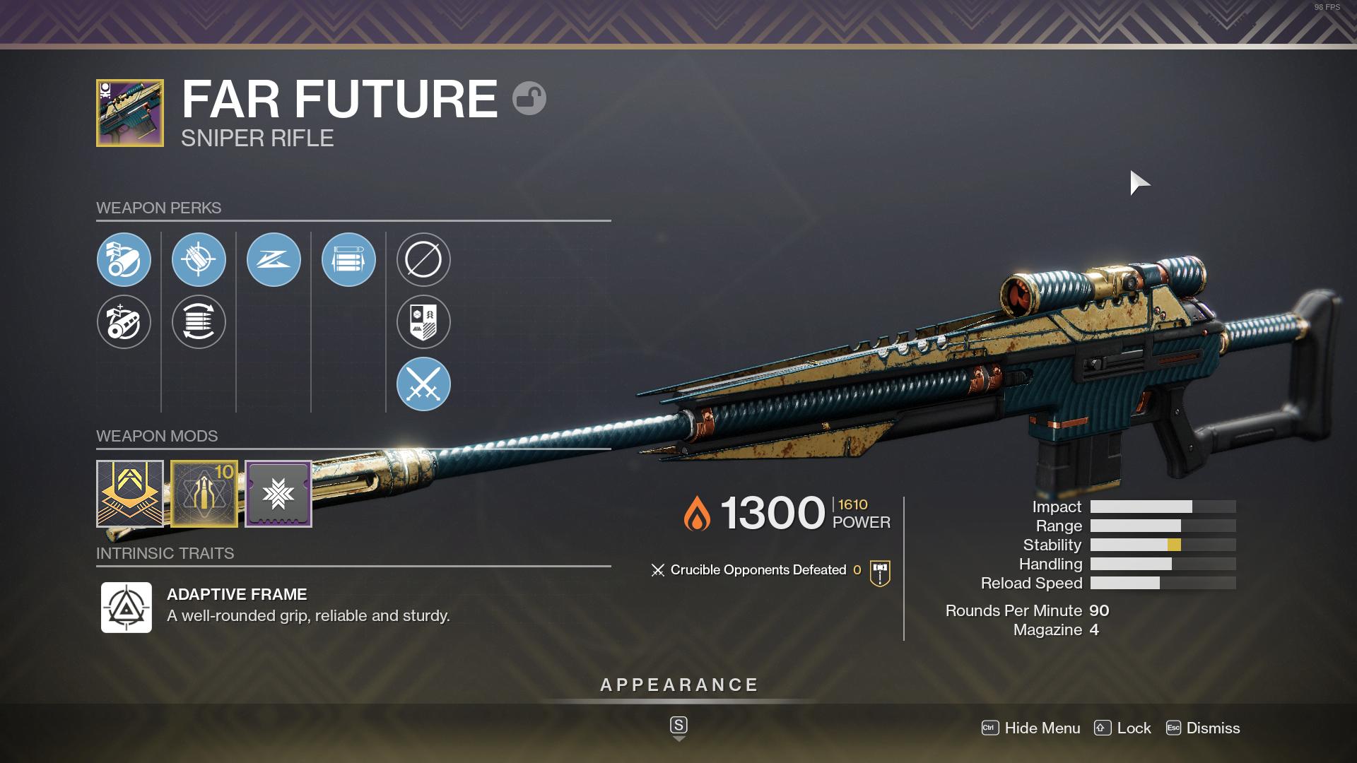 Destiny 2 Far Future God Rolls