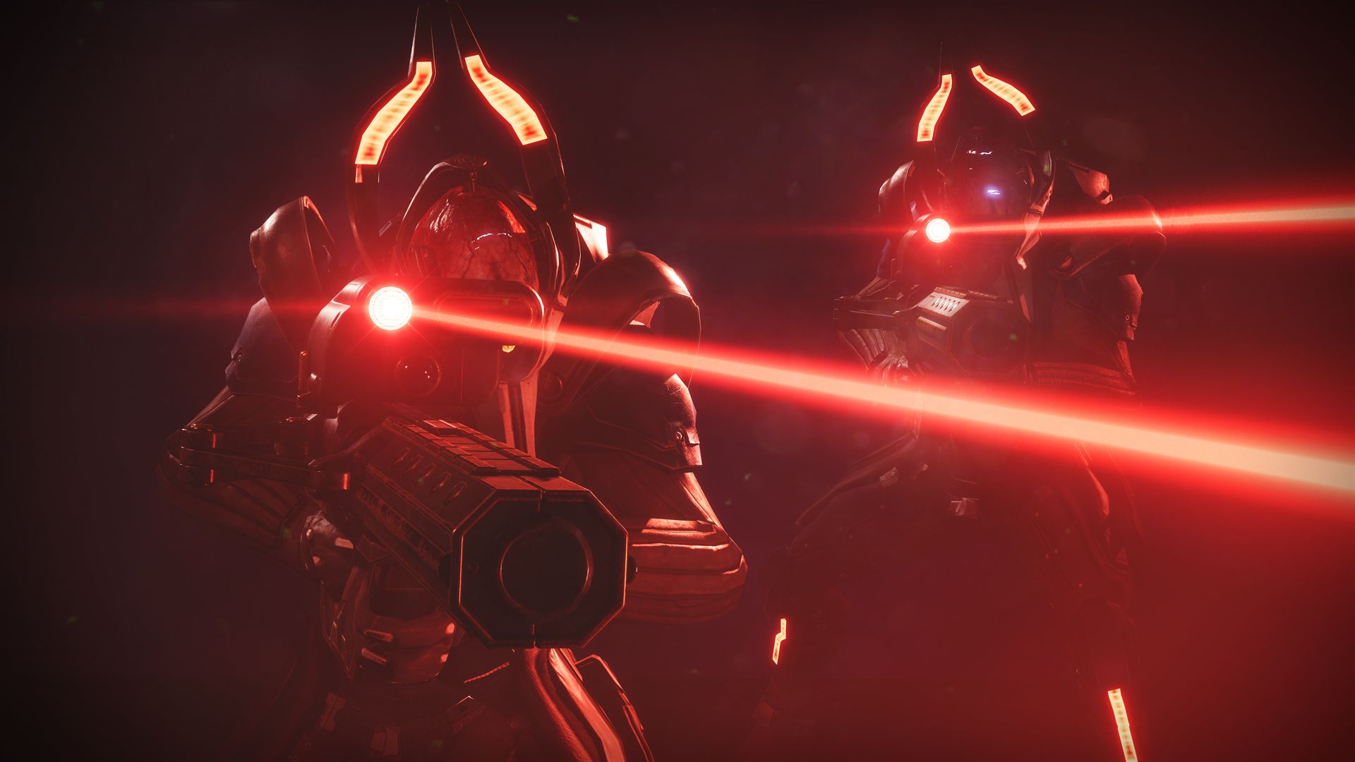 Destiny 2 Psions with Laser Sights