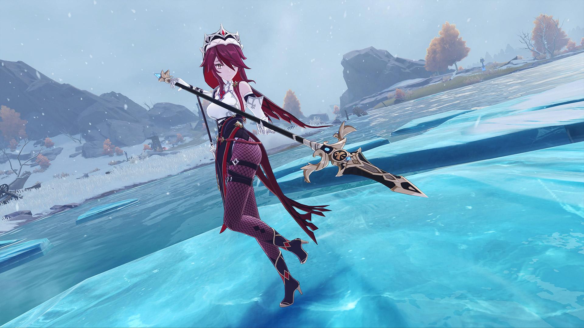 Genshin Impact Rosaria Screenshot