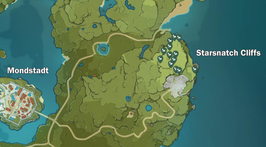 Genshin Impact Starsnatch Cliffs