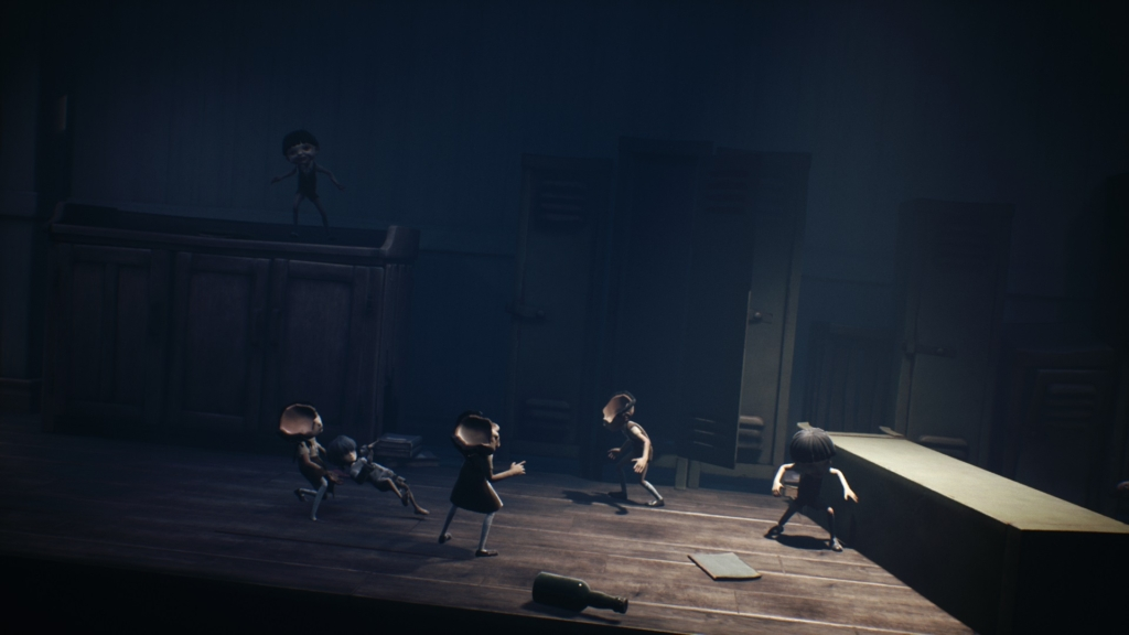 little nightmares 2 bully puppets