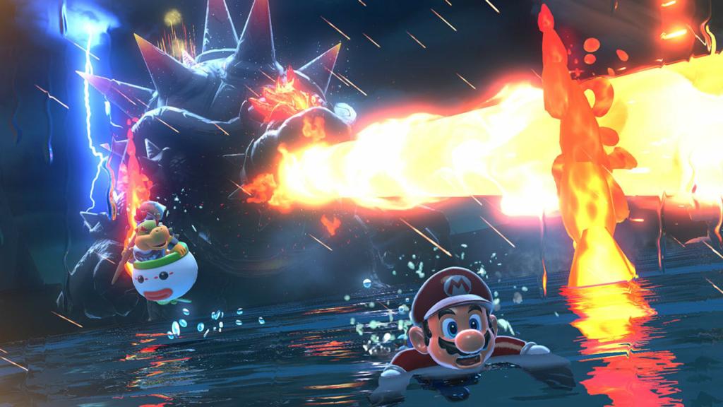 Kemarahan Bowser Dunia Super Mario 3D