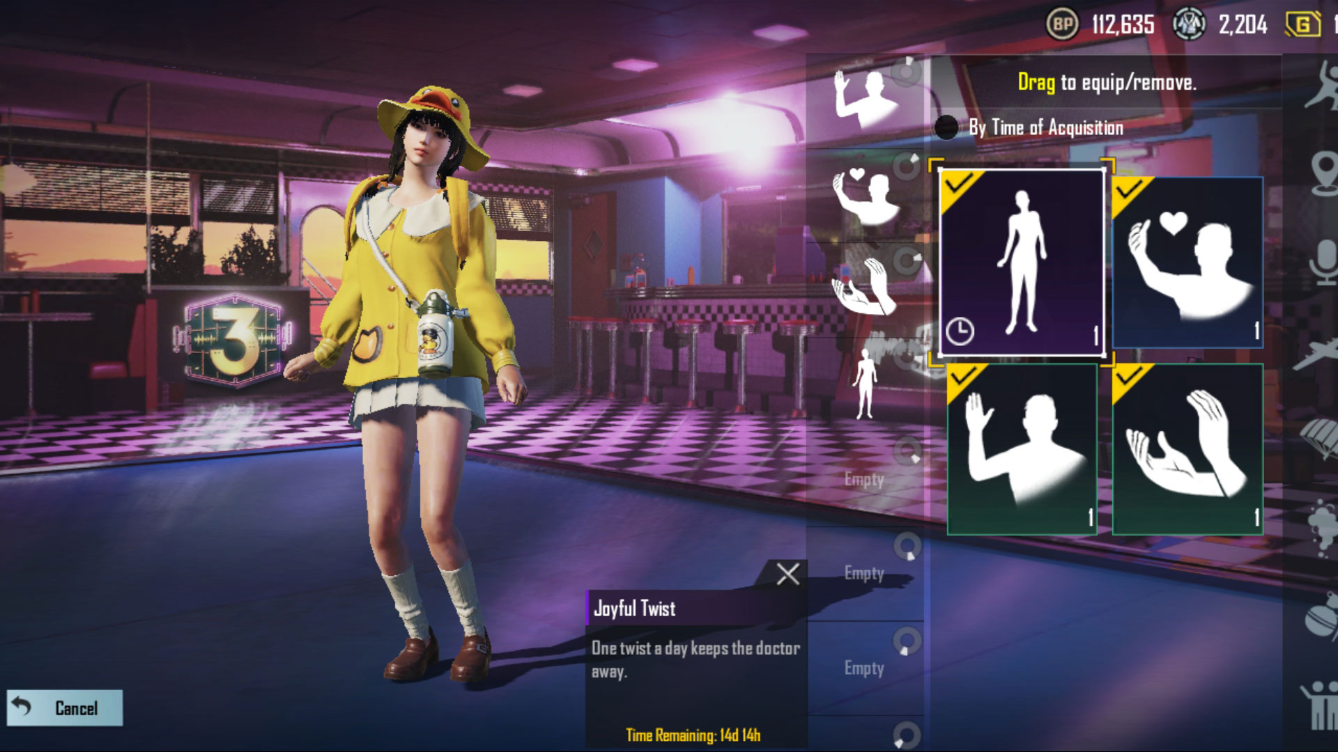 PUBG Mobile B.Duck outfit