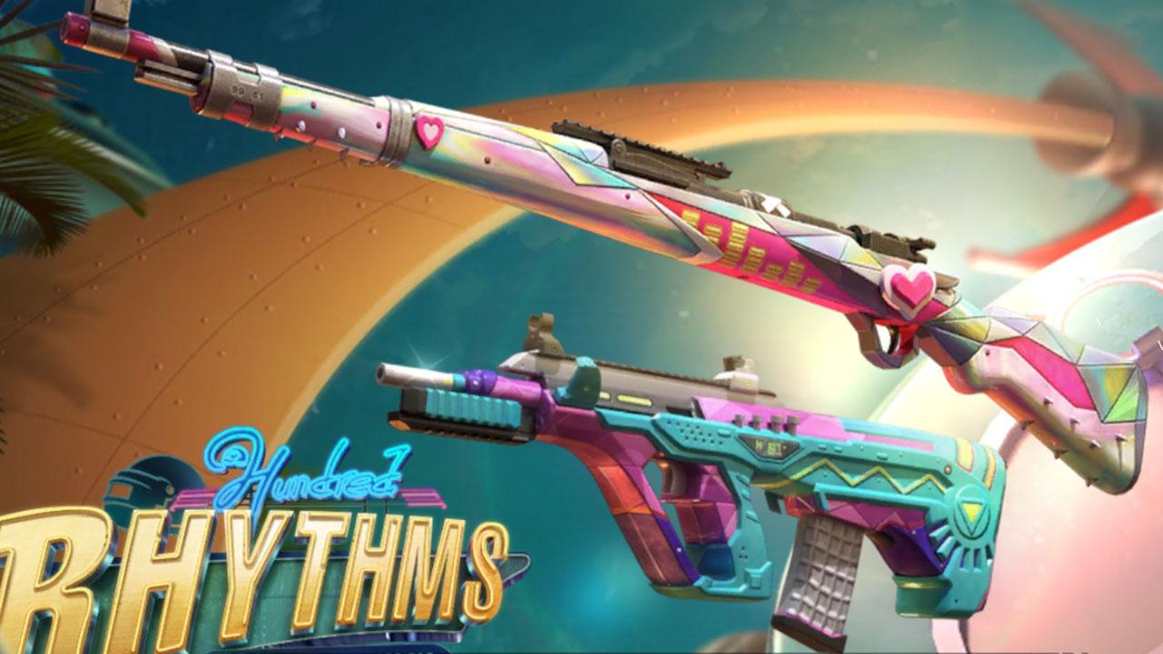 PUBG Mobile Season 18 gun skins