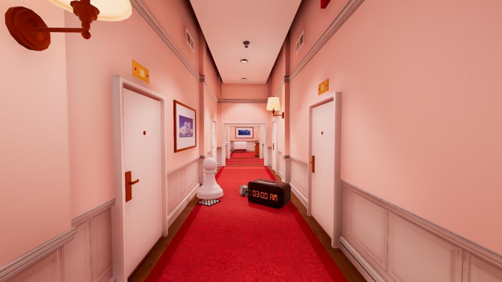 superliminal hallway