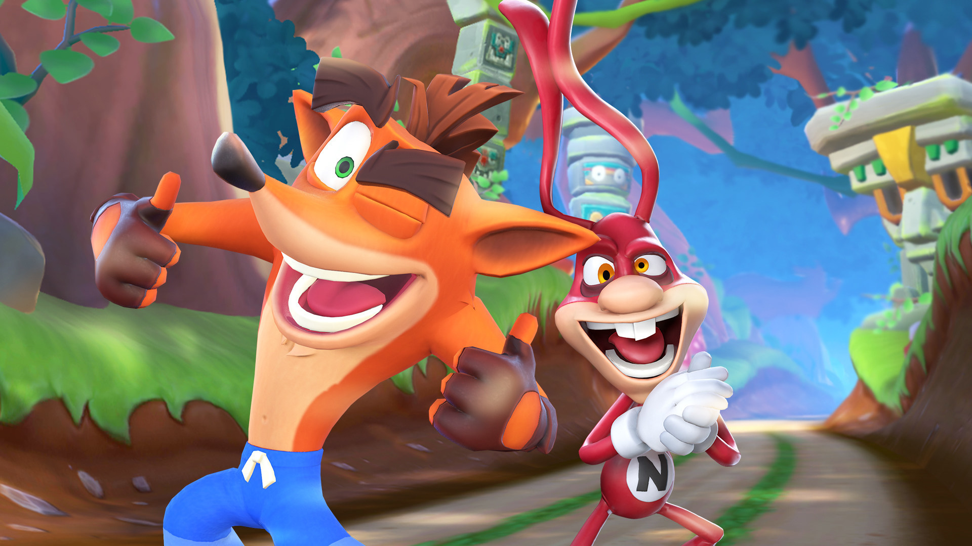 Crash Bandicoot and the Noid