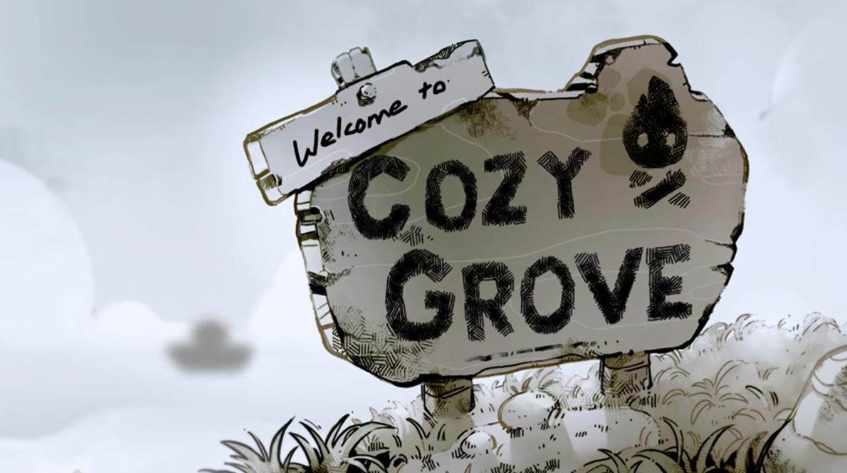 Cozy Grove welcome