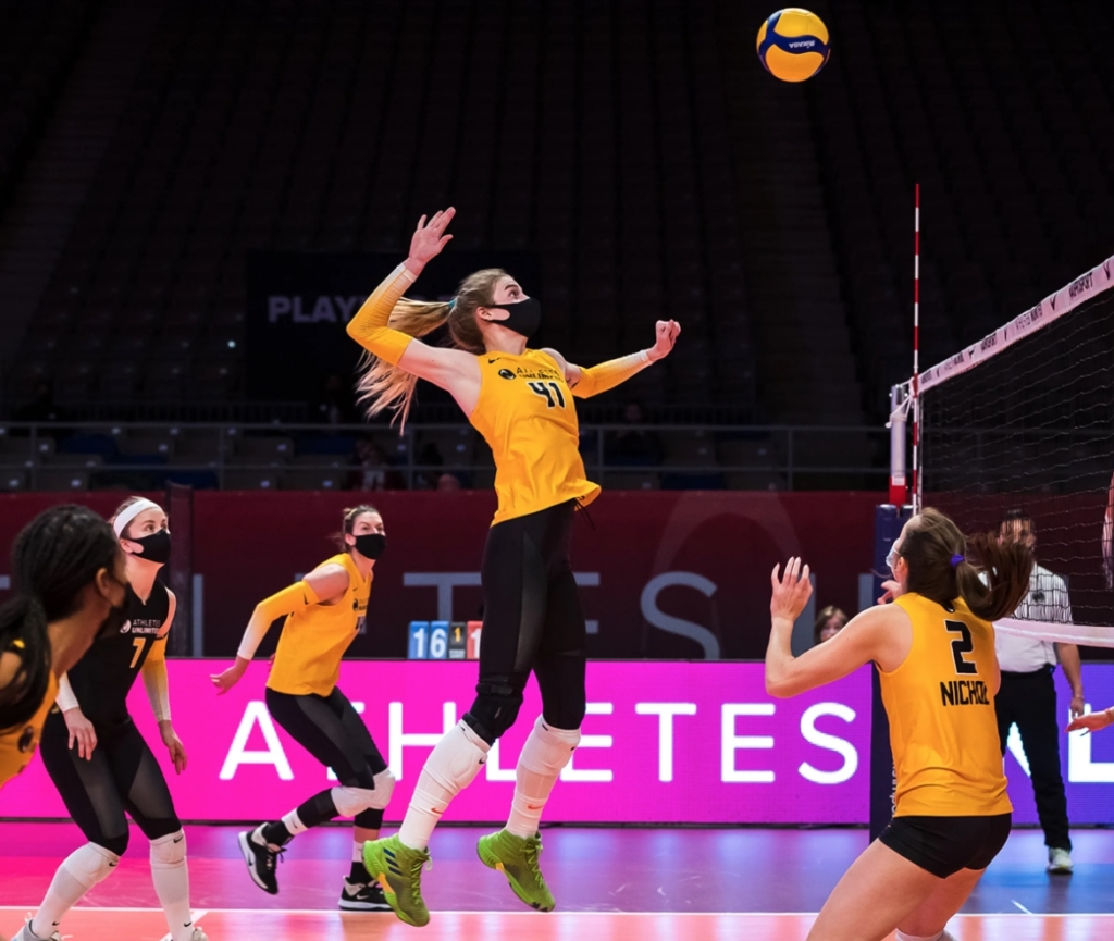 athletes unlimited volleyball airtime