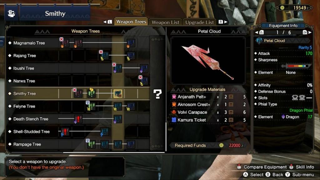 best switch axe monster hunter rise