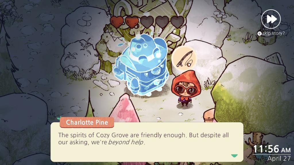 cozy grove money bear quest