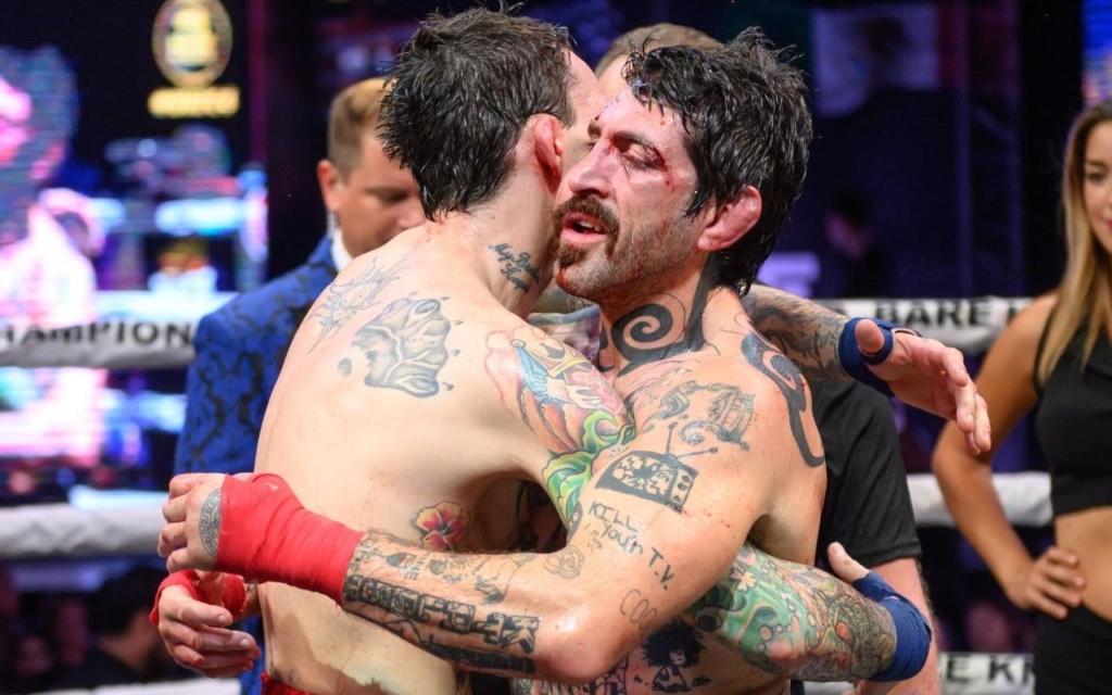 diego garijo boxing hug