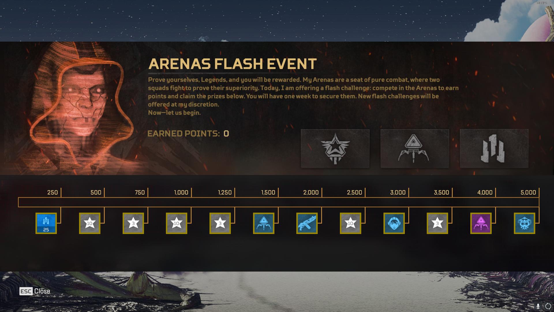 Apex Legends Arena Flash Event Points