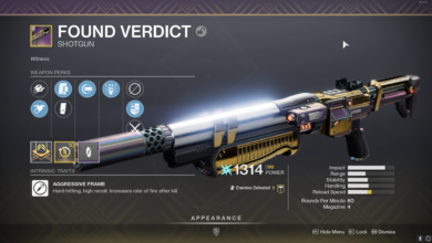 Photo of Destiny 2 Found Verdict Guide – How to Get It & the God Roll