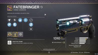 Photo of Destiny 2 Fatebringer Guide – Fatebringer God Roll & How to Get It