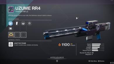 Photo of Destiny 2 Uzume RR4 Guide – Uzume RR4 God Roll & How to Get It