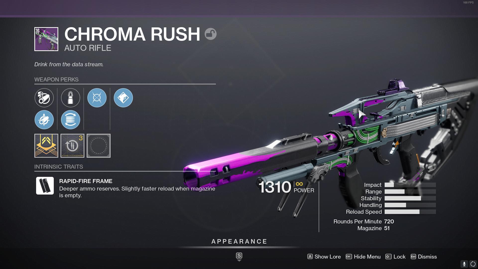 Destiny 2 Chroma Rush God Roll