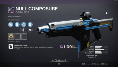 Photo of Destiny 2 Null Composure Guide – The Best Way to Get This Weapon