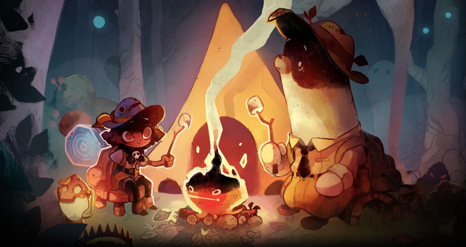 cozy grove firelight key art