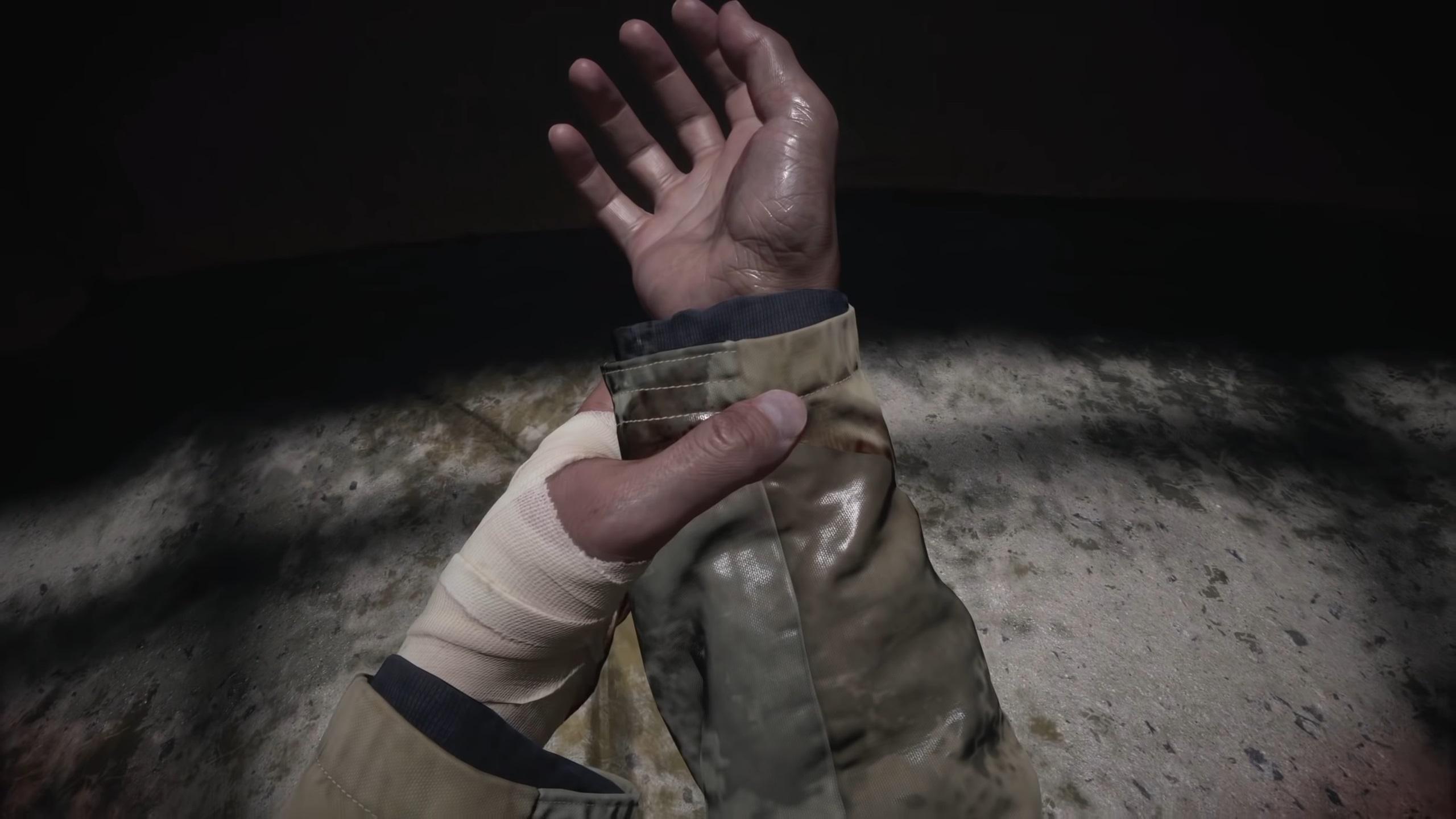 resident evil village hands