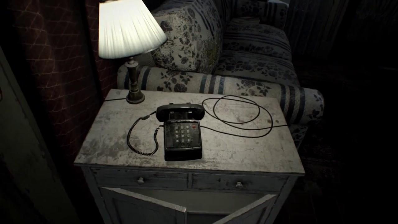 Resident Evil VII Phone