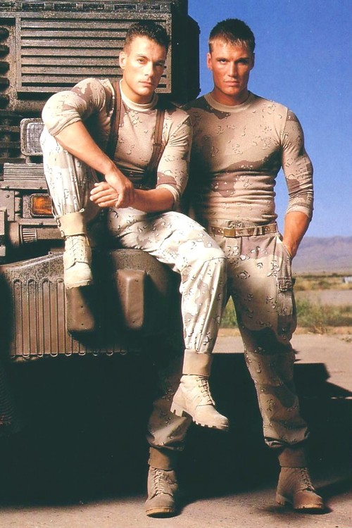 universal soldier van damme and dolph