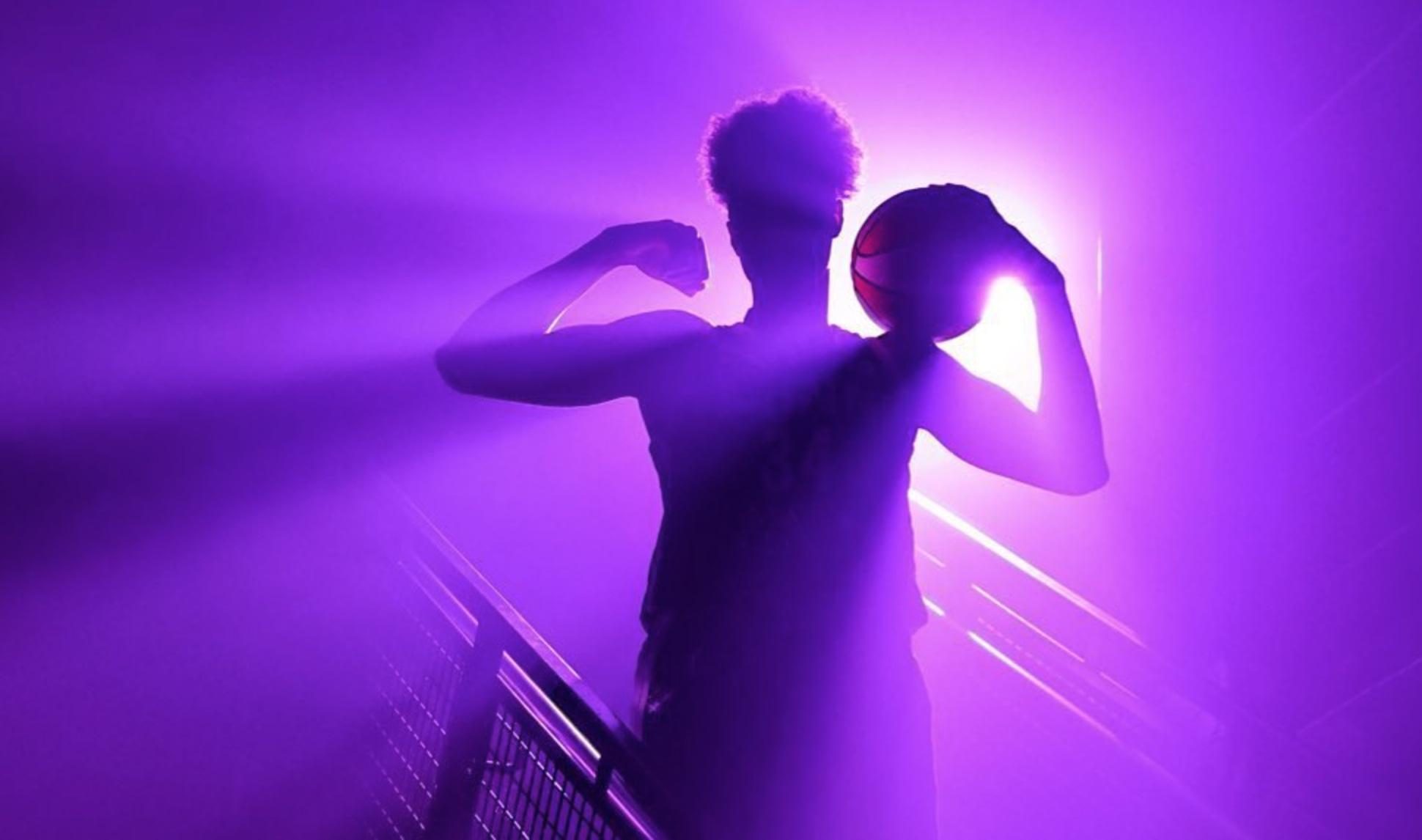 wnba purple backlight