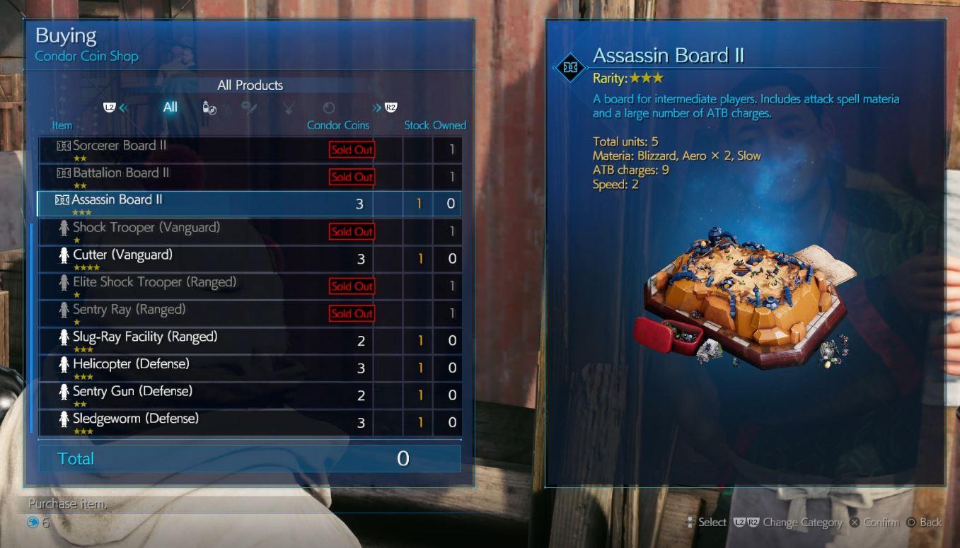 FF7 Intergrade Fort Condor