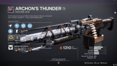 Photo of Destiny 2 Archon's Thunder Guide – God Roll & How to Get It