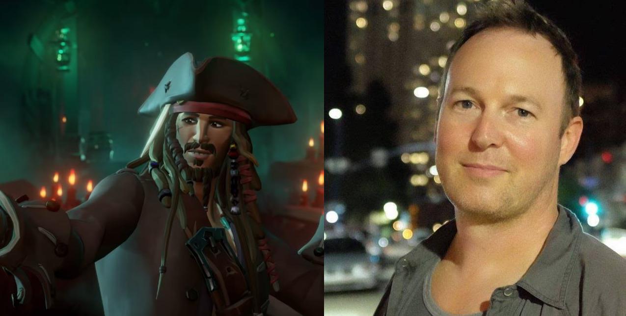 Sea of Thieves Captain Jack Sparrow Voice