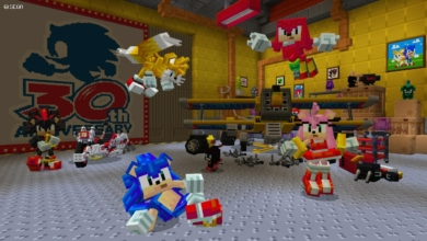 Photo of Sonic Crosses Over With Minecraft in New Pack