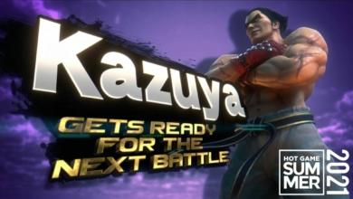 Photo of Kazuya Mishima from Tekken comes to Super Smash Bros.