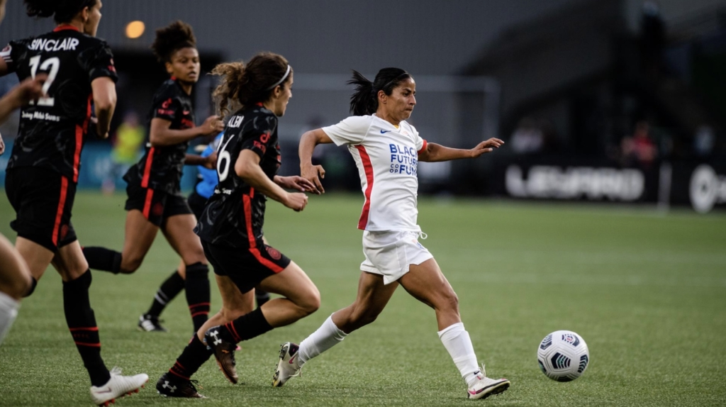 national womens soccer league OL Reign and Sounders FC
