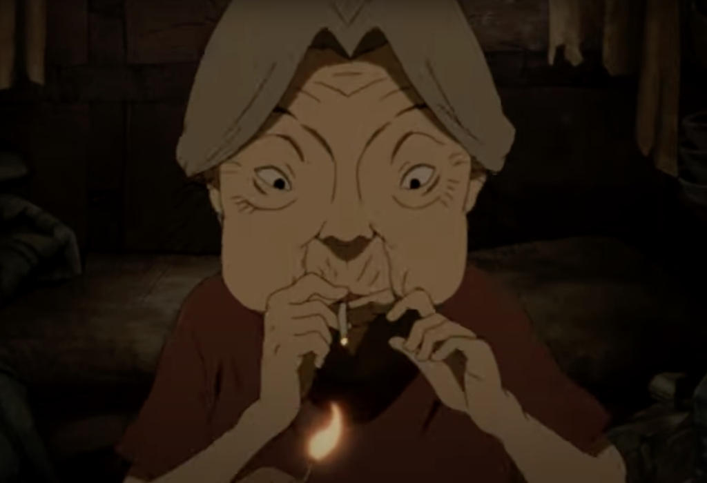 paranoia agent 6 old lady