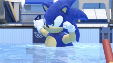 Photo of Sonic Being a Terrible Swimmer in Olympic Games Tokyo 2020: A Review