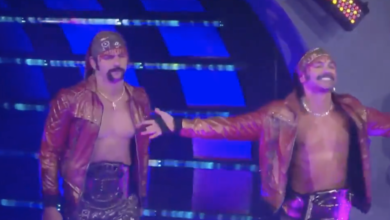 Photo of The Young Bucks' New Mustaches: A Review