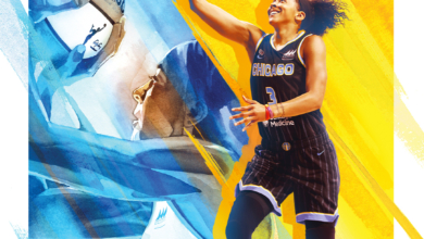 Photo of Candace Parker as the First Woman Cover Athlete for NBA 2K: A Review