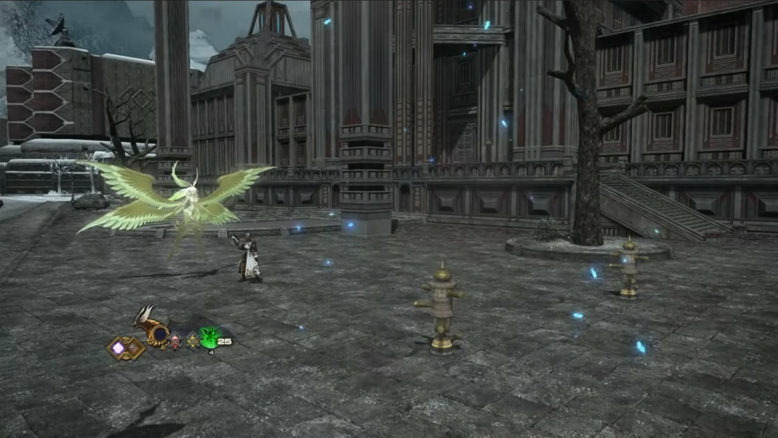 FFXIV Memanggil Garuda