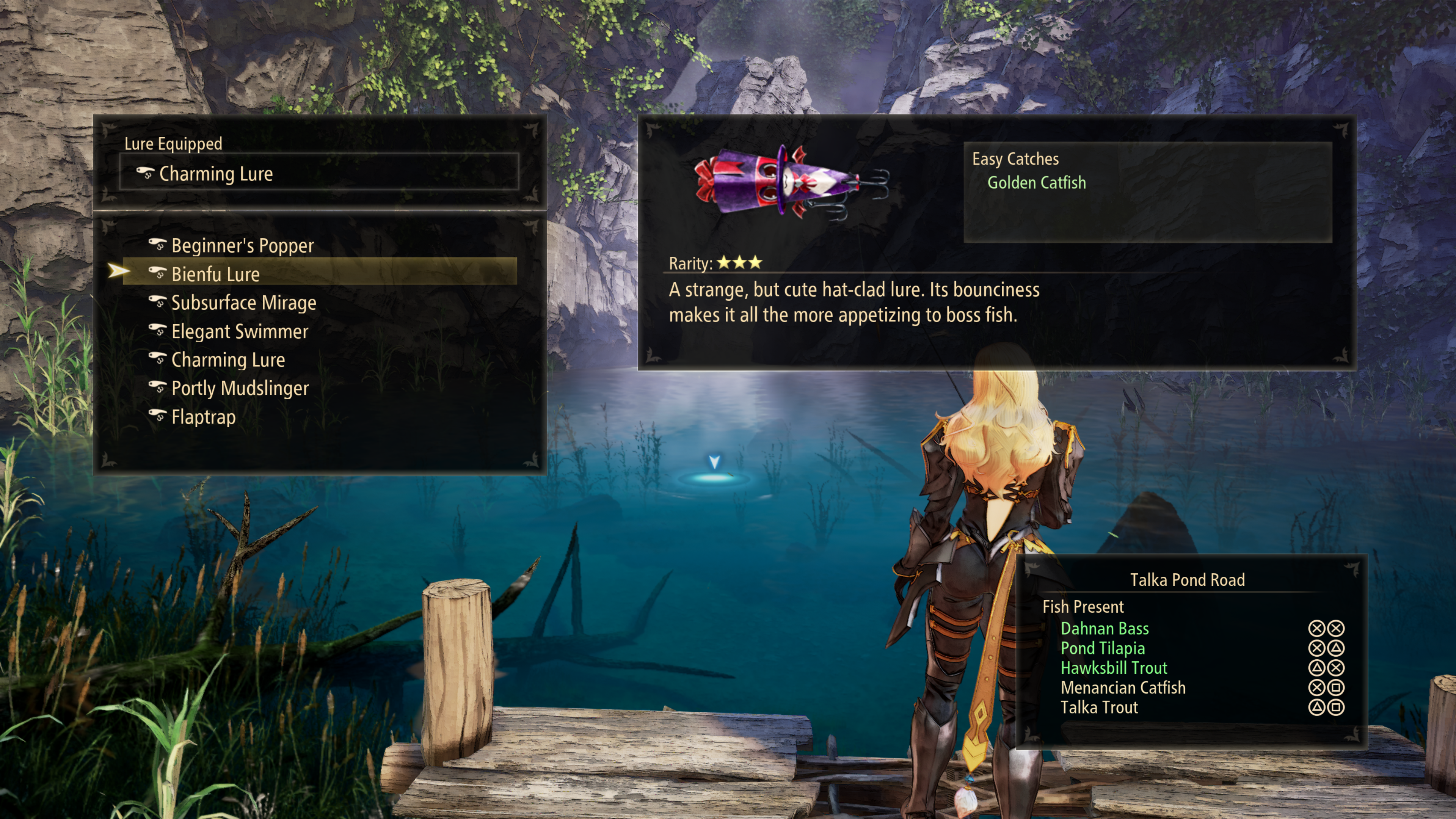 Tales of Arise Lure + Fish Buttons