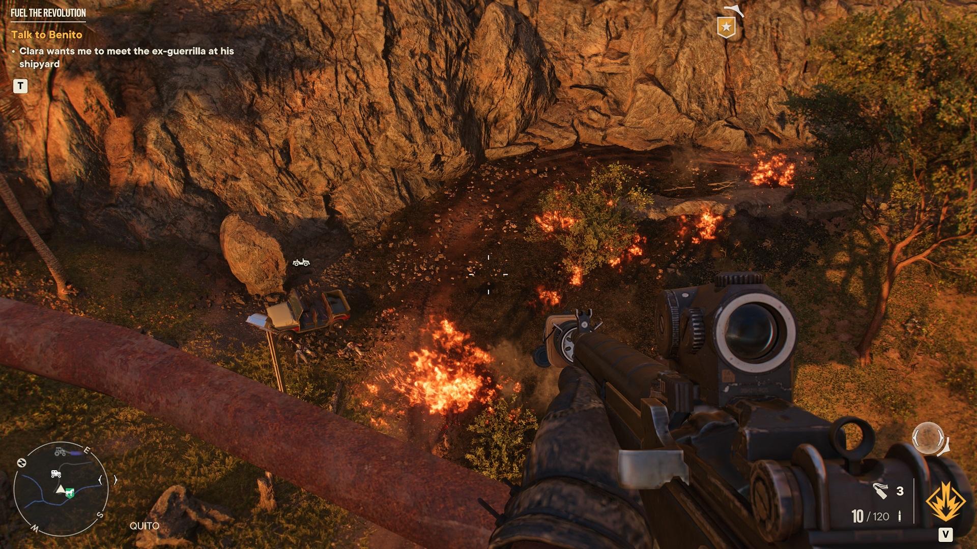 Far Cry 6 Destruction